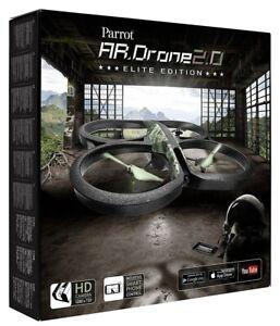 Parrot AR Drone 2 Elite Edition Quadcopter Jungle Wifi Plane 720P Camera Play