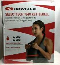 Bowflex SelectTech 840 Kettlebell New in Box , Adjusts from 8 - 40 lbs IN HAND