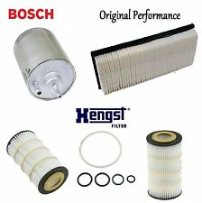 Tune Up Kit Air Oil Fuel Filters for Mercedes-Benz CL55 AMG 2001-2002