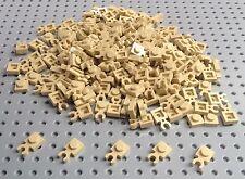 Lego Tan 1x1 Plate with Clip (4085 / 60897) x20 *NEW* Star Wars Minecraft Marvel