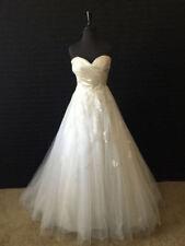 5b7b8957daee Tulle Wedding Dresses 12 Size (Women's) | eBay