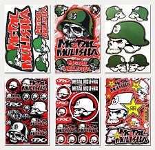 Metal Mulisha Skull Motocross Motorcycle Racing Stickers Kits Bike Vinyl Decals