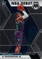 PJ Washington Jr. RC 2019-20 MOSAIC NBA Debut Rookie Card 278 Charlotte Hornets