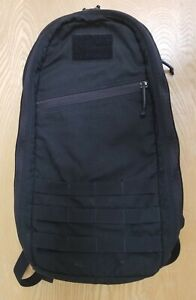 GoRuck 10L Bullet Black Made In The USA Version 1 Two Compartment