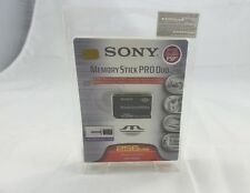 Sony 256 MB Memory Stick Pro Duo Flash Memory Card (MSXM-256S)