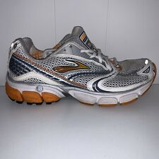 Brooks Women's Shoes Ghost 3 Go-2 Series Athletic Silver Gray 1200711B831 Sz 8.5