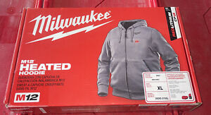 Milwaukee 302G-21Xl  M12 Heated Hoodie Kit Xl (Gray)