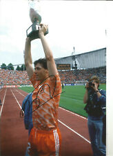 Marco Van Basten Holland Signed 12 x 8 inch authentic football photo SS1207A