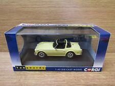 Corgi VA11509 Triumph TR5 Jasmine Yellow