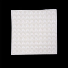 100PCS Door Self Adhesive Rubber Door Buffer Pad Feet Semicircle Bumpers SG