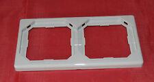 Merten Octocolor 2-Fach Rahmen 399228 achatgrau neu (P6)
