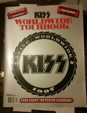Kiss 1997 Alive Worldwide Tour Program