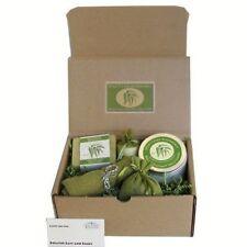 Organic Spa Gift Basket Set Eucalyptus Scented Bath Body Products Kit Healing