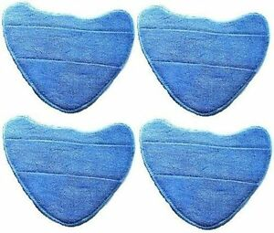4 x Steam Mop Pads For VAX S86-SF-CC Steam Fresh Combi Classic 10 in 1