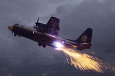 BLUE ANGELS 'FAT ALBERT' JET ASSISTED TAKEOFF 8x12 SILVER HALIDE PHOTO PRINT
