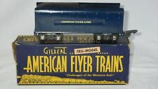 Gilbert American Flyer Trains #555 C - S Gauge - Royal Blue Tender w/ Box