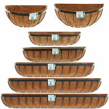 Wall Basket Planter Georgian 5 Sizes Flower Window Box Trough Cocoliner