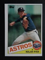 1985 Topps #760 Nolan Ryan Houston Astros Baseball Card