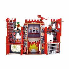 Hape E3025 Viking Fantasy Castle Infants Children Wooden Toy Age 3 Yrs