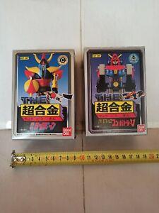 GT06 GT08 Combattler Raydeen Bandai Chogokin Lot of 2 no popy Goldrake grendizer