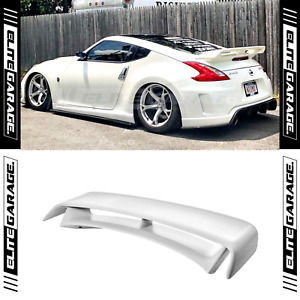 Fits (09-16) Nissan 370Z - Rear Spoiler Boot Trunk Wing (NISMO STYLE)