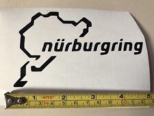 Car Window decal - Nurburgring Track Vinyl sticker, Van, Laptop