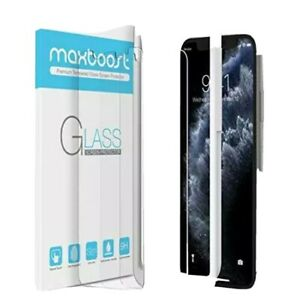 Maxboost Screen Protector for Apple iPhone Xs, iPhone X, iPhone 11 Pro 2 Pack