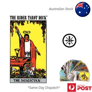 The Most Popular Tarot Deck 78 Cards Rider Waite AU Stock