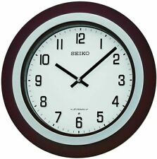 """SEIKO """"EASTON"""" MUSICAL  WALL CLOCK WITH 18 DIFFERENT HI-FI MELODIES"""