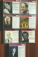 7set Markevitch/Boulez Mahler/Furtwängler/Stokowsky/Klemperer/Kleiber/Cantelli