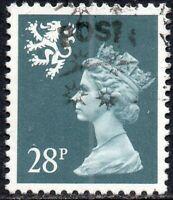 1993 Scotland Sg S75a 24p deep bluish grey (Perf 14) Fine Used