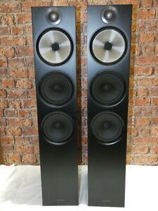 BOXED! Pair Of Bowers & Wilkins B&W 603 Matte Black Floorstanding Loudspeakers