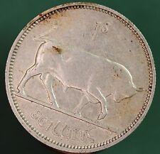 1940 Irish Ireland Shilling scilling EIRE Silver 0.750 coin *[13372]