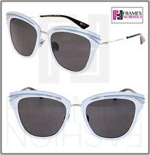 014b93f90c CHRISTIAN DIOR SODIOR Palladium Blue Powder Metal Sunglasses So Dior  Titanium