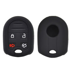 Silicone Key Case Cover For Ford Edge Taurus Escape Explorer Flex Remote Fob
