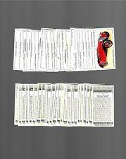 CIGARETTE CARDS.John Player Tobacco. Motor Cars 1st Ser.(Full Set of 50).(1936).