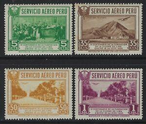 Peru 1935 Foundling of Lima set Sc# C6-12 mint