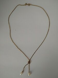 """Genuine ruby necklace 14kt Gold Filled 15.5"""" JB ROBINSON JEWELERS"""