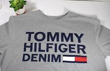 Tommy Hilfiger T-shirt Mens Graphic Tee Denim Flag Short Sleeve Size XL MSRP $40