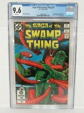 Saga of the Swamp Thing #6 (1982) Bronze Age DC Yeates Cover CGC 9.6 O153