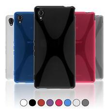 Schutzhülle für Sony Xperia X-Style Silikon Cover Case + 2 Display-Schutzfolien