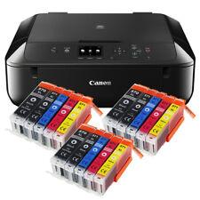 Canon Pixma Mg 5750 Strumento Multifunzione Stampante Fotocopiatrice Scanner+15x