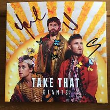 Take That - Giants Cd  Signed Autographed