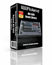 Roland MC-808 Kits/Drum Machine WAV Samples & Sounds Library: digital delivery