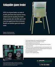 New HCO Innovations Quick Set 225 LB Tripod Game Feeder W/ FREE SHIPPING
