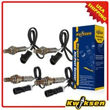 4pcs Oxygen O2 Sensor 1, 2 Up+Downstream For 1997-2000 Ford F-150 4.2L 5.4L