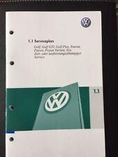 VW Manuel D'entretien chéquier serviceplan modifica GOLF PASSAT TOURAN ab2006 NEUF