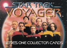 Star Trek Voyager 1995 Skybox season 1 promo T1