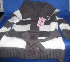 Pink Angel Toddler Girls White /Gray Sweater Size 2T, New Without Tags