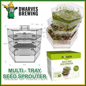 SEED SPROUTER GERMINATOR FOR BEANS & SEEDS/Healthy, Organic Sprouts